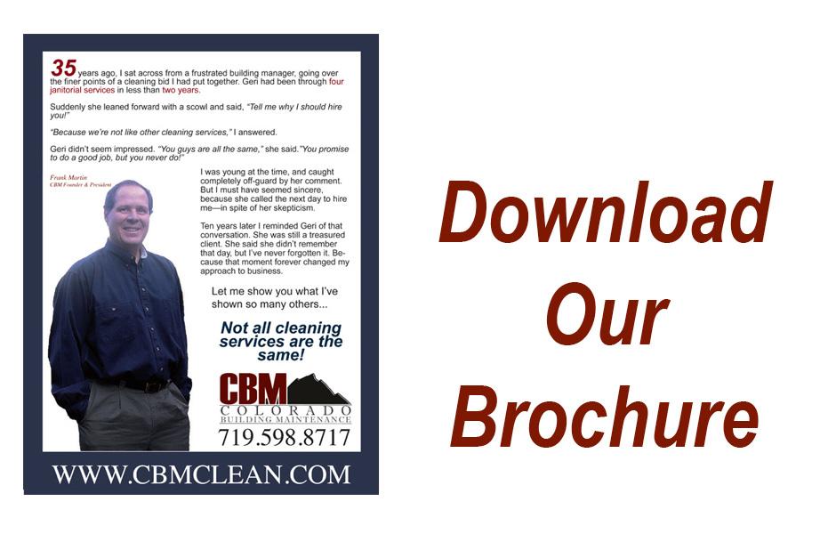 Cbm Cleaning Services : Services cbm